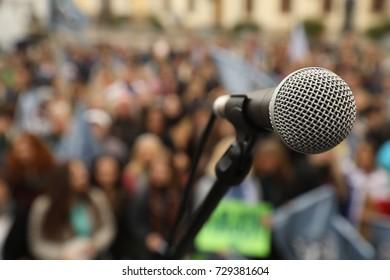 Microphone at Auditorium
