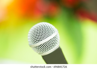 Hanging Microphone For Conference Room