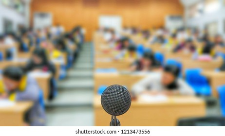 The microphone in the exam room use for announcement the direction of the exam protocol