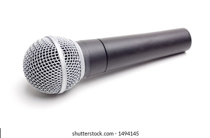 Microphone - Isolated on White