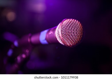 microphone for live music and open mic