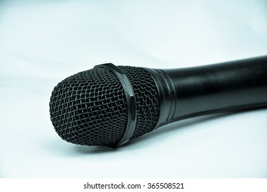 Microphone object background