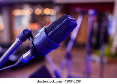 Microphone on an event