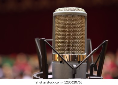 microphone on stage (Mic, condencer Mic, Voice Mic, Instrument Mic, Studio Mics, Microphones, condencer Microphone, Voice Microphone, Instrument Microphone, Studio Microphones)