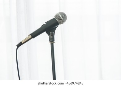 microphone, microphone on a white background.