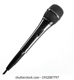Microphone for singing karaoke songs.