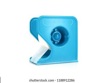 micropore surgical tape accessories isolated in white background.