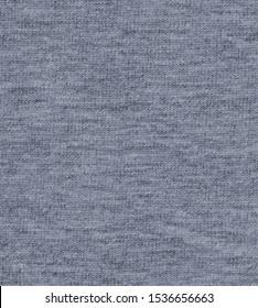 Mid Blue melange fabric texture  background