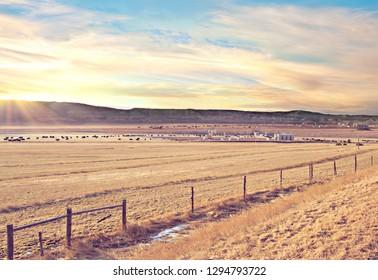 Mid western oil fields