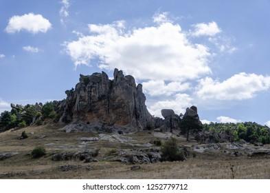 Midas Monument of Ancient Midas City in Yazilikaya, Eskisehir,Turkey