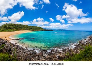 Midday at Waimea Bay