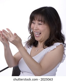 middle age asian woman
