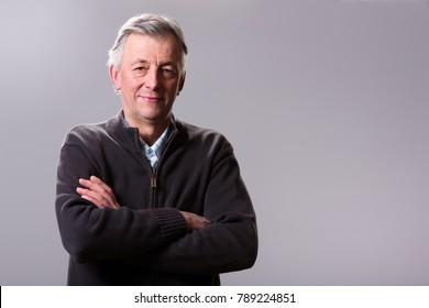 Middle age male portrait.