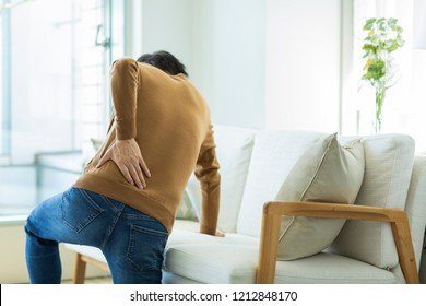 Middle age men with low back pain