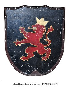 Middle age metallic shield