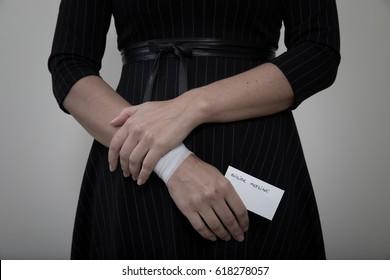 Cut Wrist Images, Stock Photos & Vectors | Shutterstock