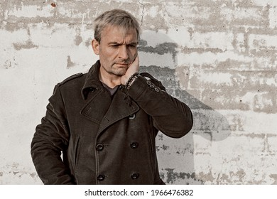 Man Standing In Front Of Brick Wall Images Stock Photos Vectors Shutterstock
