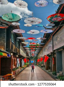 ‎Solo middle aged female travel in china , at Shuhe old town , Lijiang ,Yunnan ,China