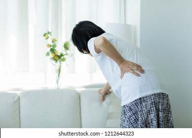 Middle aged women with low back pain