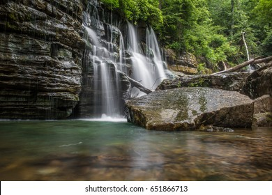 Middle Creek Falls Chattanooga Tennessee Waterfall