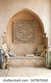 middle east arch interior stylish design inside room