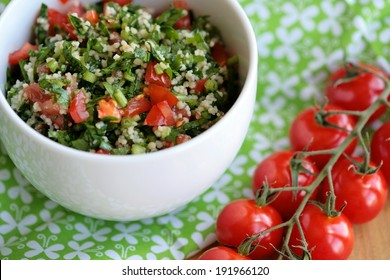 Middle Eastern salad Tabbouleh