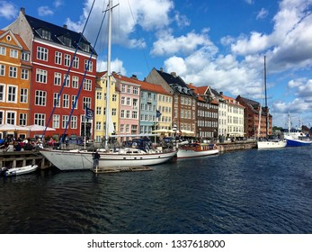 In the middle of Kopenhagen, Denmark