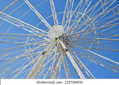 Middle part of a giant ferris wheel