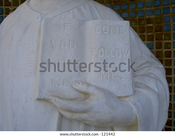 middle part of statue