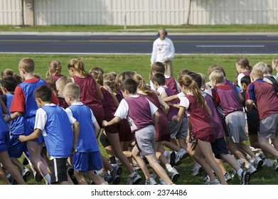 Middle school cross country meet