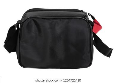 Middle size camera black bag