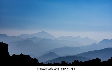 Middle taurus region & mediterranean mountain ranges