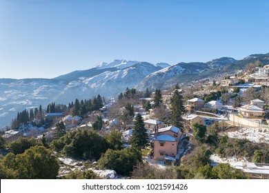 Middle Trikala morning view in Corinth Greece.