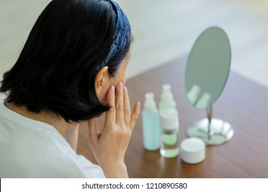 Middle-aged women's skin care