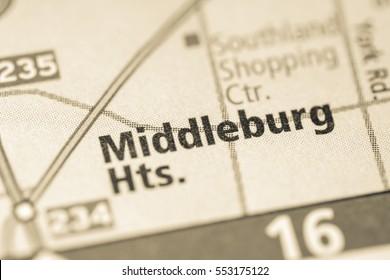 Middleburg Heights. Ohio. USA