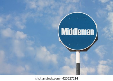 Middleman Sign