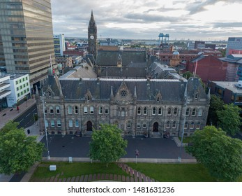 Middlesbrough, England August 14th 2019 photo of Middlesbrough town hall.