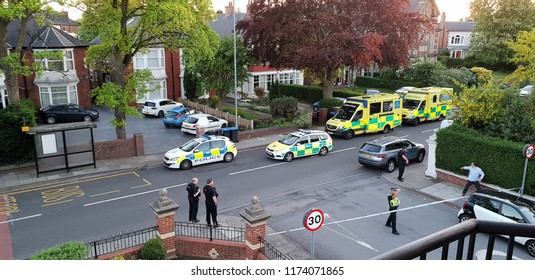 Middlesbrough/ England May 14th 2018 Murder of Jessica Patel Crime Scene