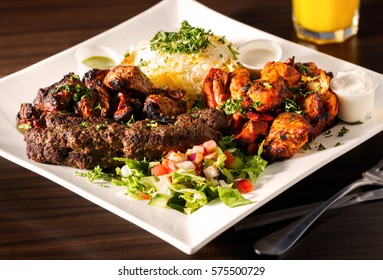 Mid-Eastern Mixed Grill Platter