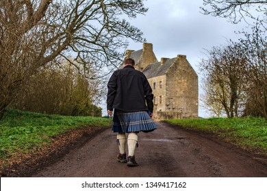 Midhope castle in Scottish Highlands featured as Lallybroch Jimmy Fraser castle in Outlander series