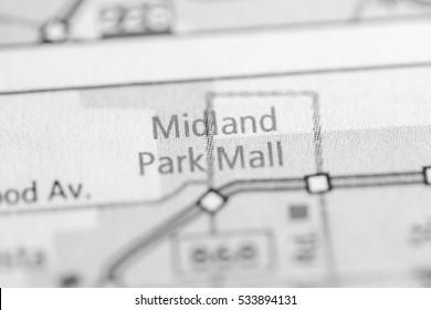Midland Park Mall. Texas. USA