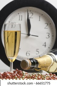 Midnight champagne for the New Year