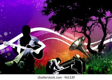 midnight concert in the garden