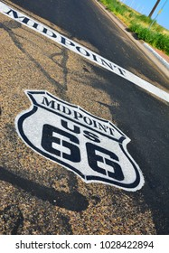 Midpoint between Chicago and Los Angeles in the historic Route 66.