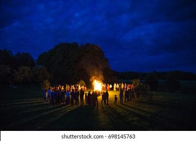 Midsummer festival Liigo, Jani, summer solstice