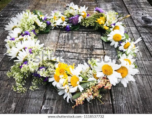 Midsummer Flowers Sweden Stock Photo Edit Now 1118537732