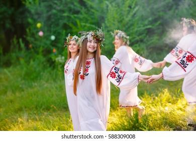 Pagan Holidays of the Slavs Images, Stock Photos & Vectors