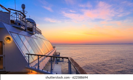 Midsummer on a cruise ship