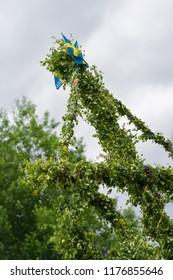 Midsummer pole in Sweden