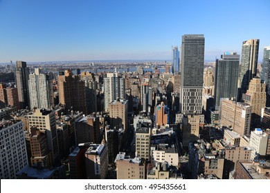 Midtown Neutral Skycrapers New York Skyline Manhattan Picture taken on January 2nd 2016